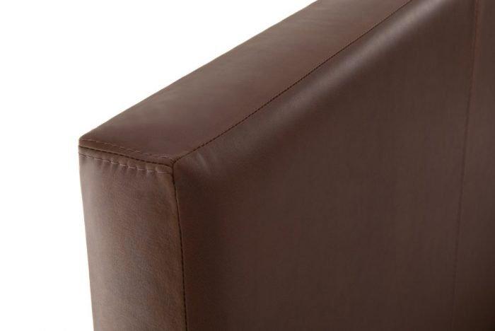 Brown Classic Real Genuine Leather Headboard