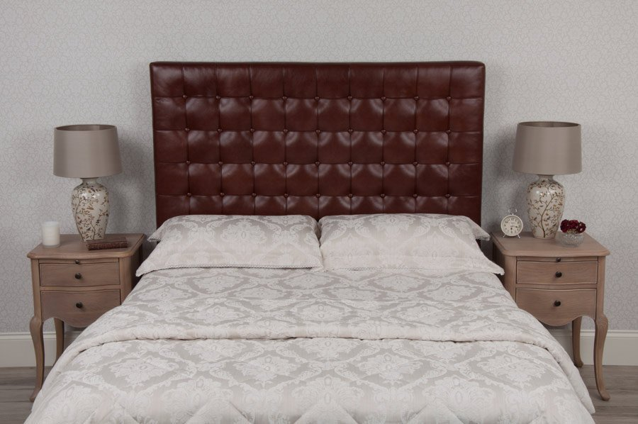 Barcelona Real Leather Headboard
