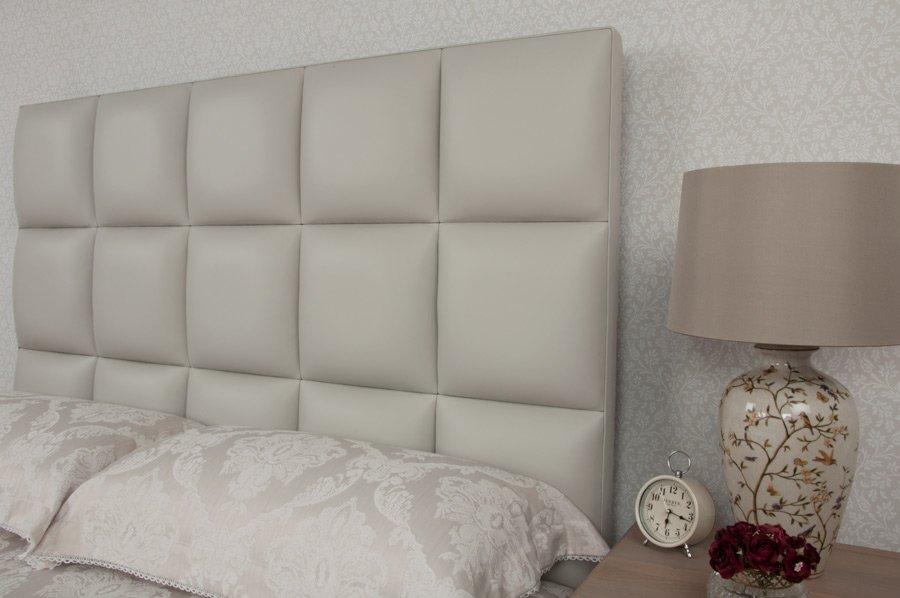 home platform grey linen cloth light headboard tall bed silver dp amazon life quot com with slats full