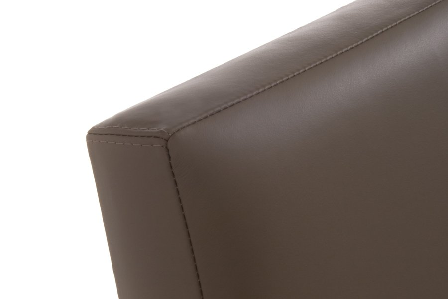 Olive Classic Real Genuine Leather Headboard